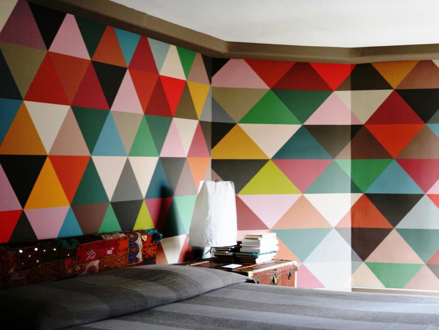 Behang Met Patroon : Patroon behang geometrisch v g digital printing store